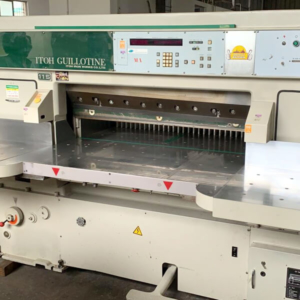 Used wohlenberg Cutting machine dealers in Chennai, India