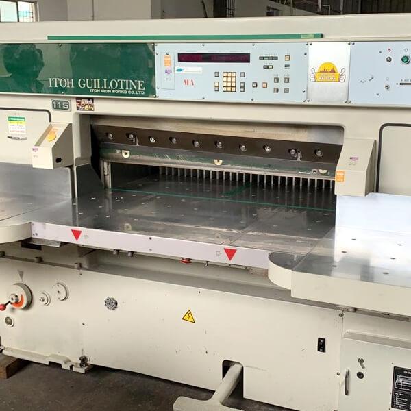 Used wohlenberg Cutting machine dealers in Chennai, India