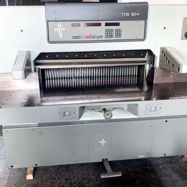 Used polar PAPER CUTTING machine dealers in Chennai, India, Tamilnadu