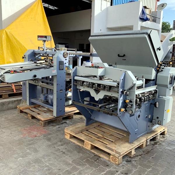 Used stahl Folding machine dealers in Chennai, India, Tamilnadu